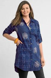 Benares Shirt - Ink