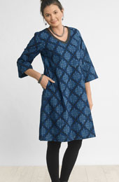 Champa Dress - Blue