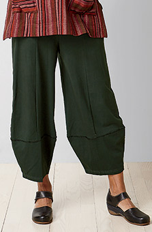 Shillong Pants - Bottle green