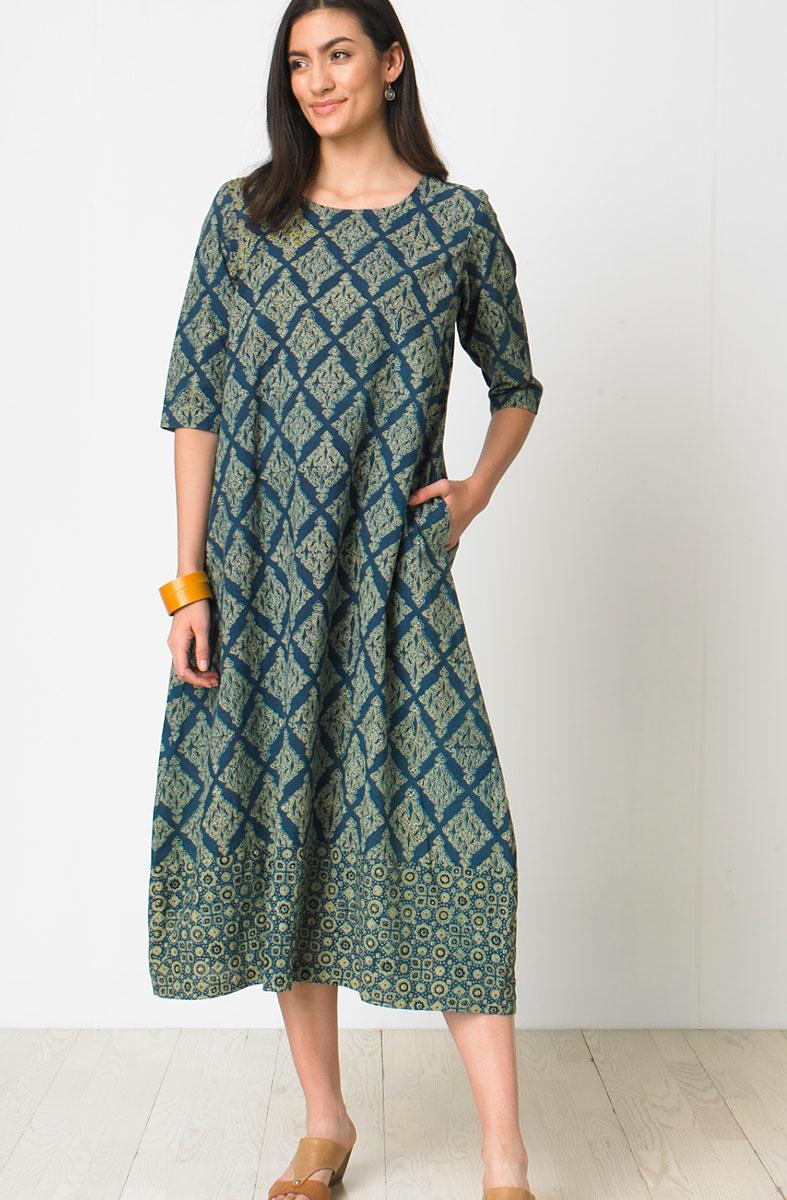 Ratna Dress - Indigo