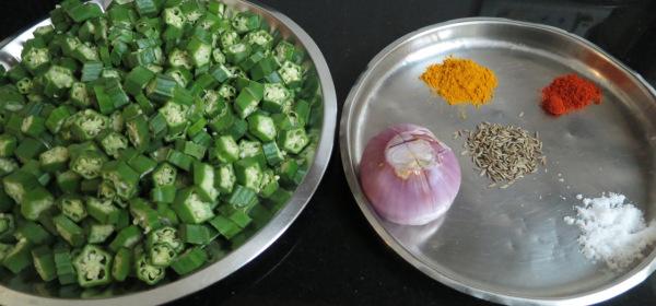 Bhindi (Okra) Fry