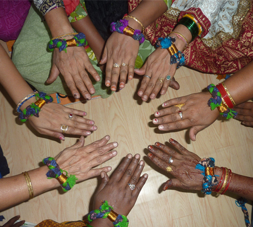 Cheerful Chindi Bracelets