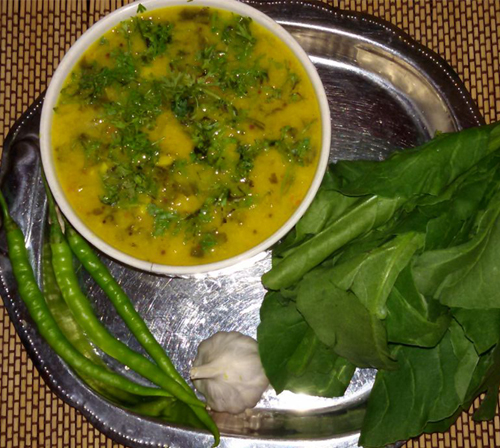 Palak (Spinach) Dhal