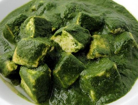 Vegan Palak Tofu