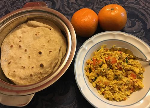 Anda Bhurji  (Scrambled Eggs)