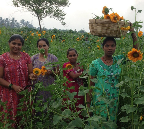 Ranphul Mahila Mandal: Flowers in the Country