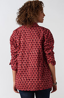 Reversible Amulya Jacket - Crimson