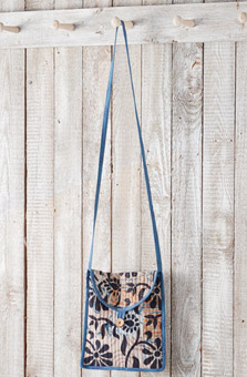 Sling Bag - Natural/chindi