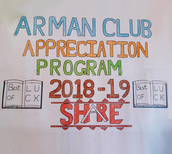 Armaan Club Appreciation Program 2019
