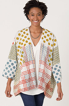 Sunita Jacket - White Multi