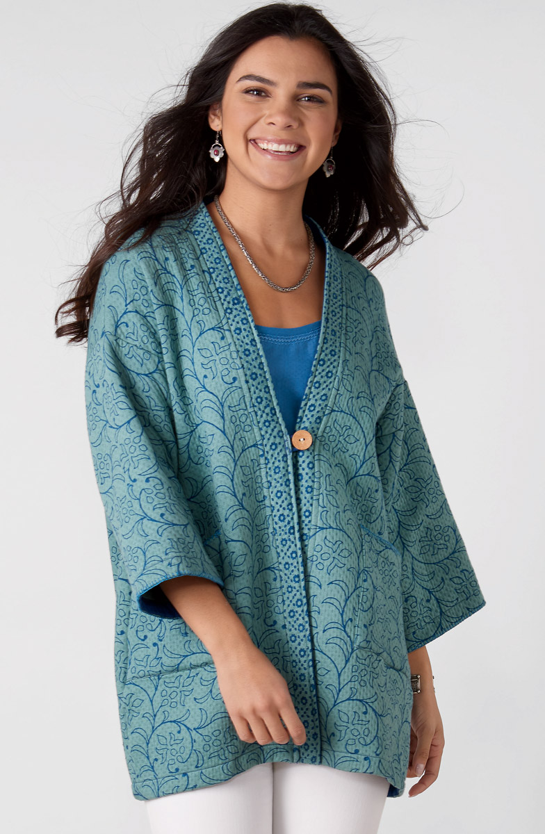 Kanchi Jacket - Soft jade
