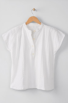 Jameel Top - White