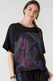 Kabini Top - Black Multi