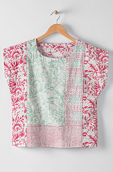 Koshi Top - Cerise Multi