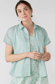 Adira Shirt - Mint julep