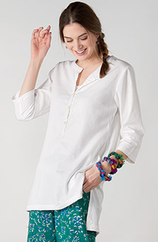Rachna Tunic - White