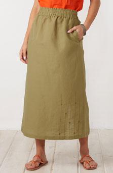 Panvel Skirt - Olive
