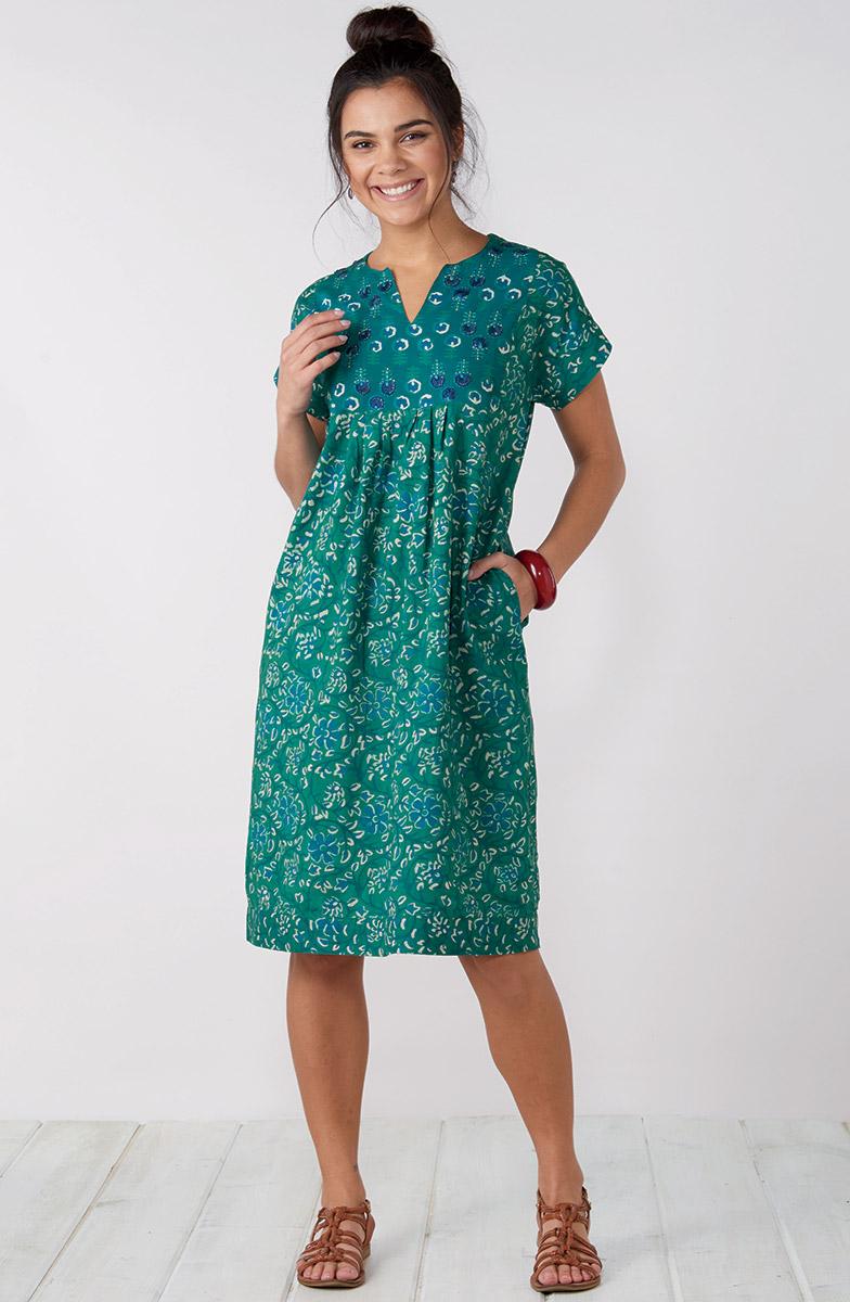 Mahika Dress - Jade