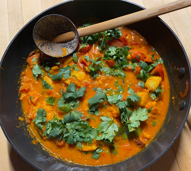 Indo-Burmese Fish Curry