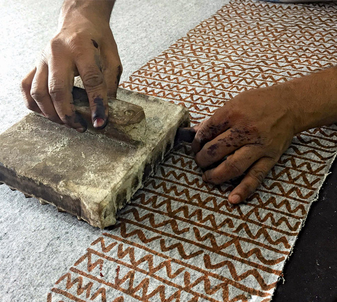A Rich Tradition: Hand Block Printing