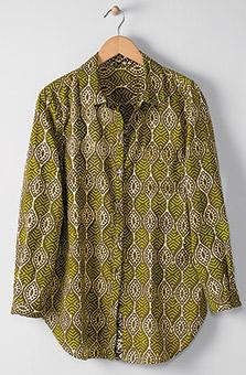 Jeevan Shirt - Olive