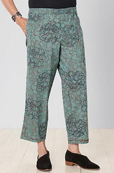 Neera Organic Pant - Jade