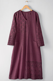 Nirupa Dress - Plum