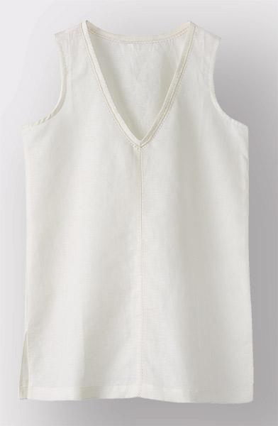 Chethana Top - Soft white
