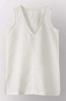 Chethana Top - Soft white