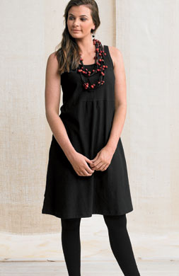 Deepa Cami Dress - Black