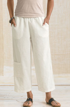 Kesari Cargo Pants - Soft White