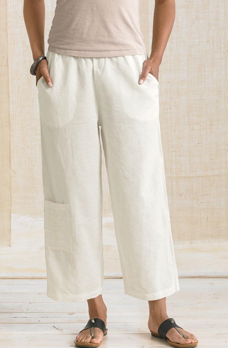 Kesari Cargo Pants - Soft White