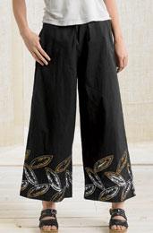 Sangli Pants - Black/Tea/White