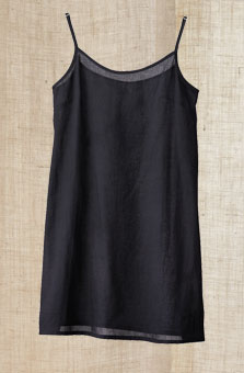 Midi-length Cami - Black