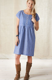 Anupa Dress - Chambray