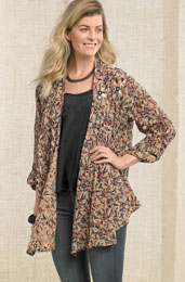 Sakina Jacket - Natural/multi