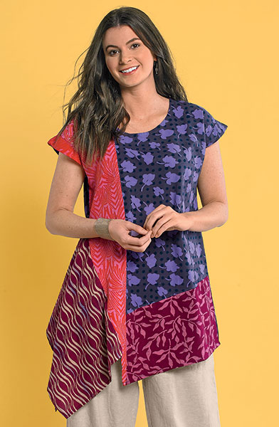 Sonali Top - Purple/multi