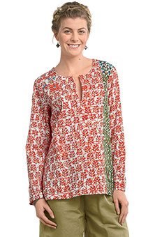 Kumari Top - Red/multi