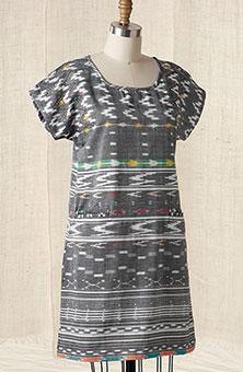Ameera Tunic - Smoke gray/multi