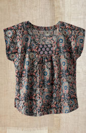 Preethi Top - Black/multi