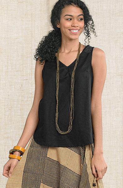 Ayesha Tank- Black