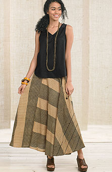 Madhuri Skirt - Ginger