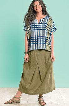 Arohi Skirt - Olive