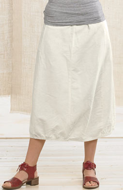 Gopi Skirt - Soft white