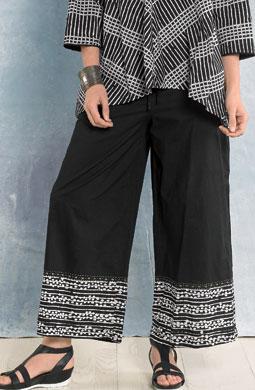 Sangli Pants - Black/white