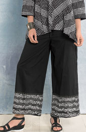 Sangli Pants - Black/white