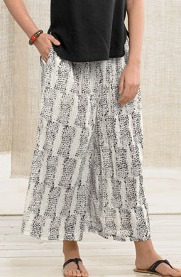 Lavasa Pants -Natural/black