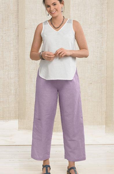 Kesari Pants - Lavender