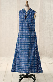 Rohini Dress - Blue