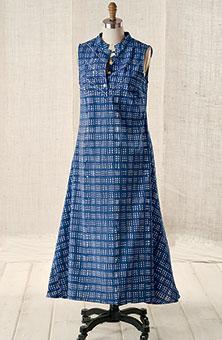 Rohini Dress - Blue